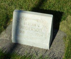 Bertha Valentine Anderson