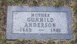 Gunhild <i>Loftus</i> Anderson