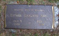 Esther <i>Garland</i> Abel