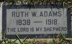 Ruth Winet <i>Cowan</i> Adams