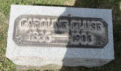 Caroline <i>Eisman</i> Cluse