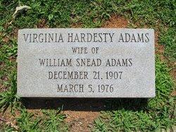 Virginia <i>Hardesty</i> Adams