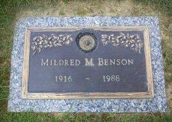 Mary Mildred <i>Lewis</i> Benson