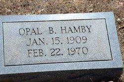 Opal B. Hamby
