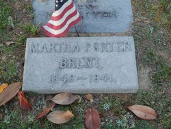 Martha Buxton <i>Porter</i> Brent