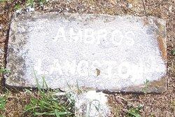 Ambros Langston