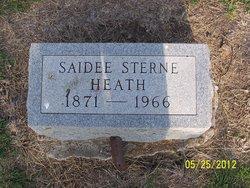 Saidee <i>Sterne</i> Heath