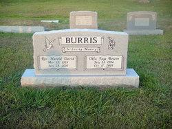 Okla Faye <i>Bowen</i> Burris