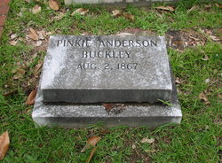 Pinkie <i>Anderson</i> Buckley