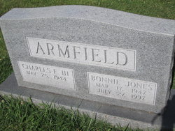 Bonnie <i>Jones</i> Armfield