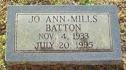 Jo Ann <i>Mills</i> Batton