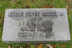 Luther Henry Adden, Sr