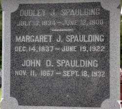 Dudley Jeremiah Spaulding