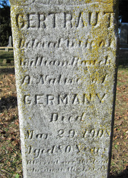 Gertrude <i>Dieterich</i> Bauch