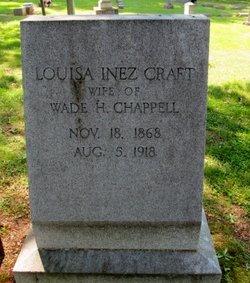 Louisa Inez <i>Craft</i> Chappell