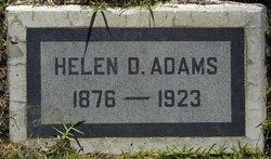 Helen D <i>Daniels</i> Adams