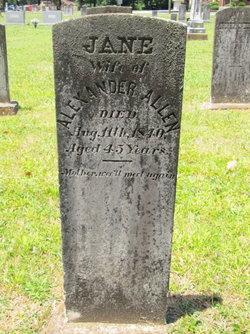 Jane <i>Scott</i> Allen
