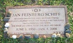 Jan <i>Feinberg</i> Schiff