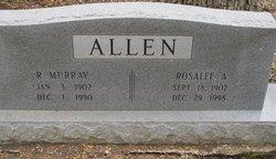 Rosalee <i>Wesley</i> Allen