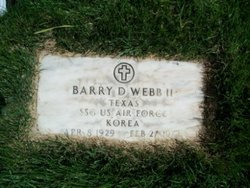 Sgt Barry D Webb, II