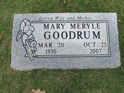 Mary Meryle <i>Moore</i> Goodrum