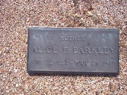 Alice Frances <i>Watson</i> Barkley