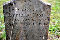 Lydia Ann <i>Allen</i> Cash