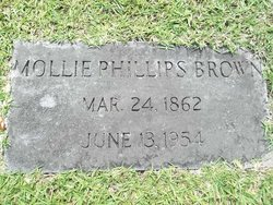 Mollie <i>Phillips</i> Brown