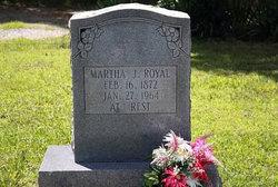 Martha Jane <i>Wyatt</i> Royal