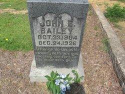 John E Bailey