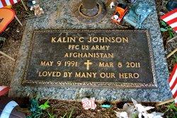 PFC Kalin C. Lee Johnson