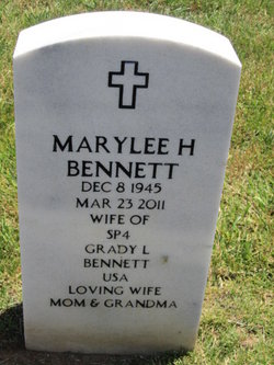 Mary Lee <i>Hargrave</i> Bennett