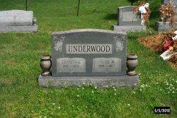 Ollie Mae <i>Howard</i> Underwood