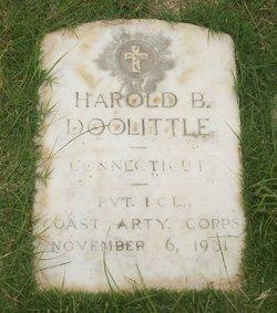 Harold B Doolittle