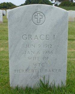 Grace Ione <i>Barnes</i> Baker