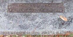 Robert Newton Page