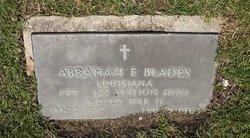 Abraham E. Blades
