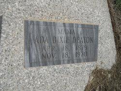 Ada Dixie <i>Downing</i> Deaton