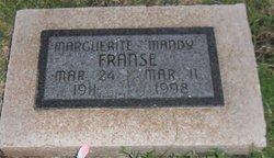Marguerite Amanda Mandy <i>Owens</i> Franse