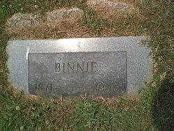 Binella Minnie <i>Garriott</i> Densford