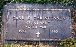 Carl E Christensen
