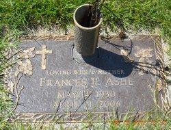 Frances Elizabeth <i>Giorgilli</i> Ashe