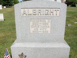 Christainna A <i>Whitebread</i> Albright