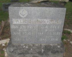 Rev James Monroe Witt