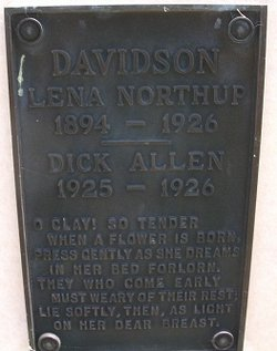 Lena <i>Northup</i> Davidson