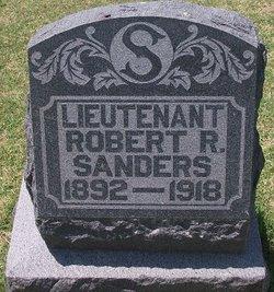 Lieut Robert R. Sanders