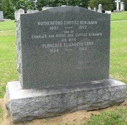 Rutherford Curtiss Benjamin