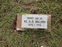 Infant Son Ballard