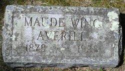 Maude Elizabeth <i>Wing</i> Averill
