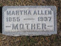 Martha Ann <i>Doolittle</i> Allen